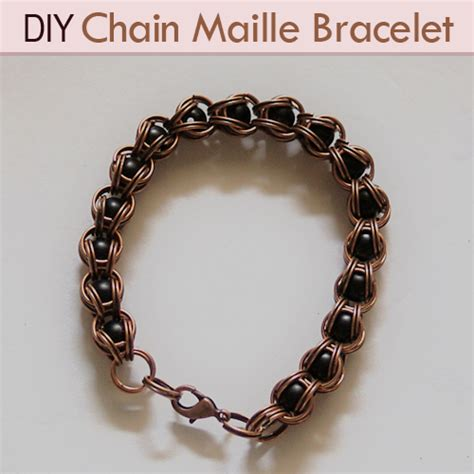 how to make chainmaille jewelry diy chain maille bracelets