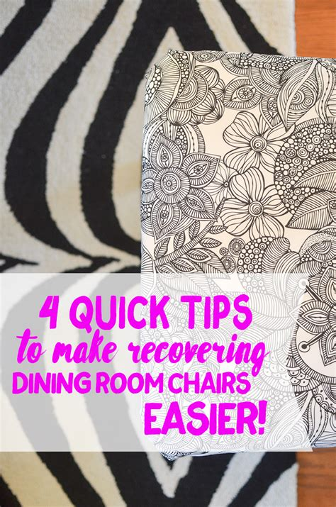 recover dining room chairs 4 tips for recovering dining room chairs