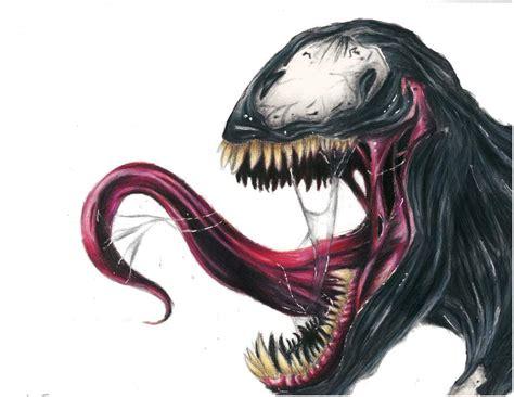 Drawing Venom by Venom Drawing Marvel Amino