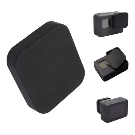 Gopro Lens Cover Cap Protector For 3 Black Silicone Protective Lens Cap Cover Protector
