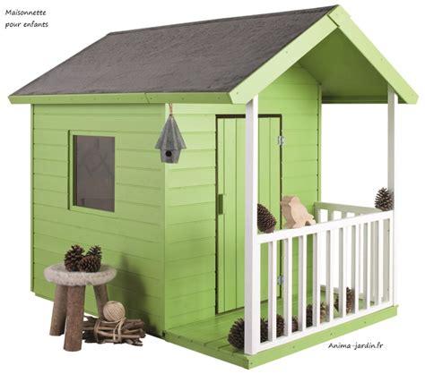 cabane de jardin pour enfant pas cher maisonnette en bois pour enfants kangourou chalet pas cher