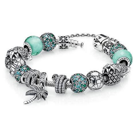 pandora bracelet pandora caribbean cool charm bracelet richard engels