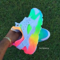 Rainbow Bedding For Girls by Shoes Rainbow Nike Hurraches Huarache Multicolor Nike