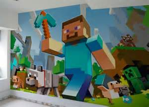 minecraft mural related keywords amp suggestions minecraft mural long minecraft wall murals by inkyourwall on etsy