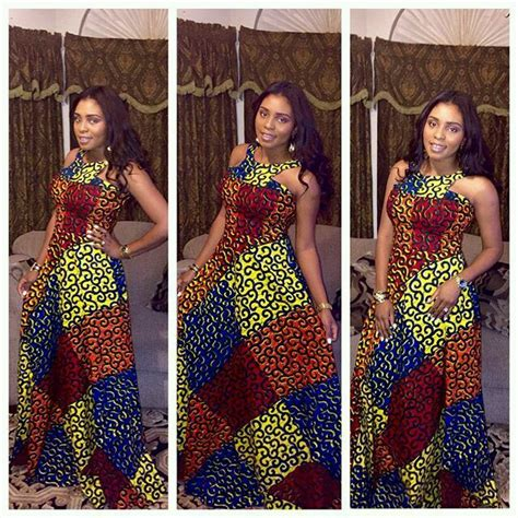 flowing gowns ankara free flowing ankara gowns od9jastyles beautiful black
