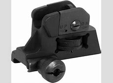 NcStar AR-15 Detachable Rear Sight A2 Style Iron Sight ... Ar 15 Iron Sights Review