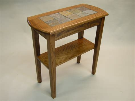 red oak sofa table slate tables