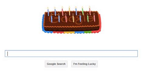 doodle kue ulang tahun rayakan ulang tahun ke 14 dengan doodle choliknf