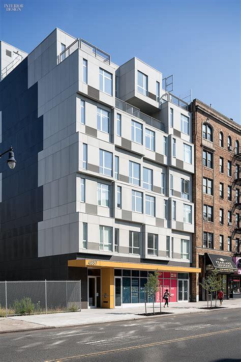 logical homes modern prefab prefab multifamily urban big ideas gluck completes a prefab residential project