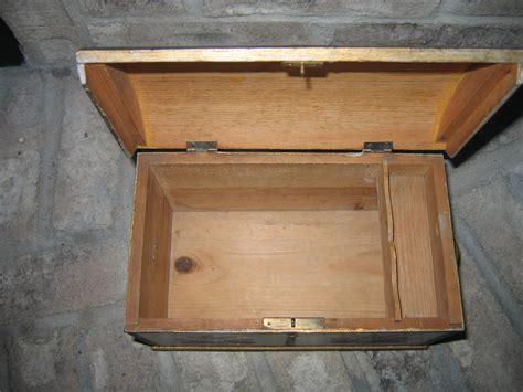 woodworking classifieds antique wooden box trunk w locking mechanism item 948