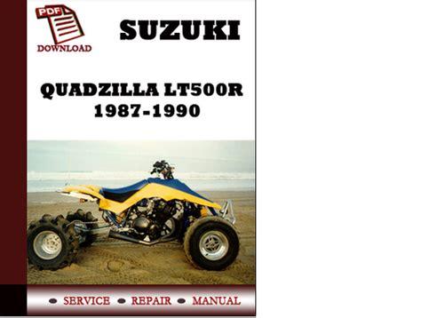 small engine repair manuals free download 1990 suzuki sidekick head up display suzuki quadzilla lt500r 1987 1988 1989 1990 workshop service repair