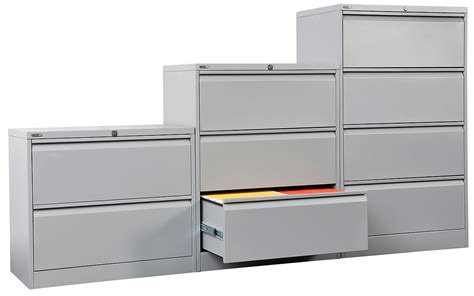 Steel Lateral File Cabinet Go Steel Lateral Filing Cabinet 3 Drawer Office Stock