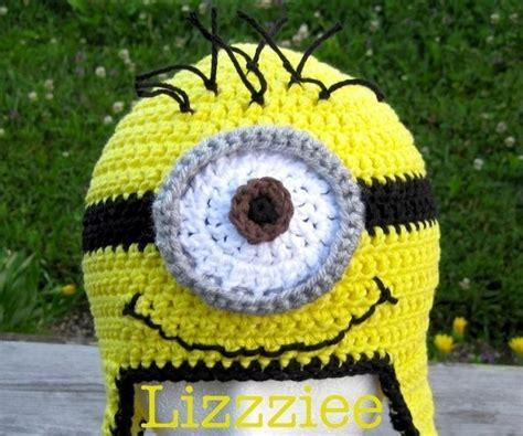 pattern crochet minion hat despicable me minion crochet hat pattern alldaychic