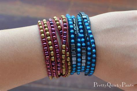 beaded wrap bracelet diy pretty diy bead wrap bracelet