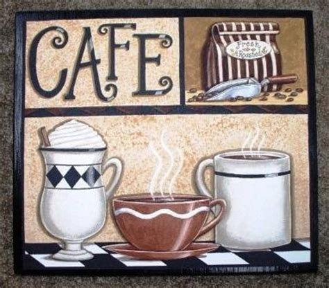 Cafe Latte Kitchen Decor by Kitchen Signs Coffee Espresso Bold Kitchen Wall Sign