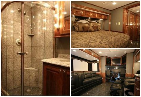 luxury motorhome interior