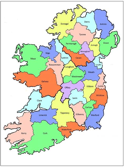 the counties of ireland antrim to dublin introduction