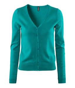 Drape Front Tops H Amp M Cardigan In Green Lyst