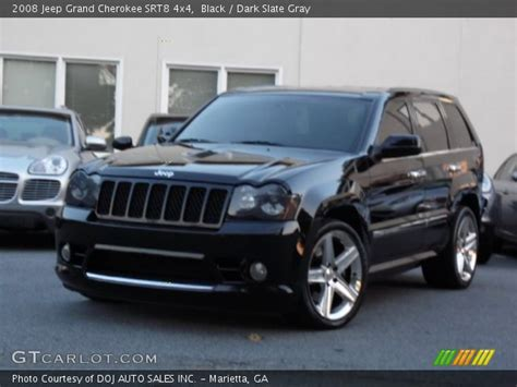 Srt8 Jeep 2008 Black 2008 Jeep Grand Srt8 4x4 Slate