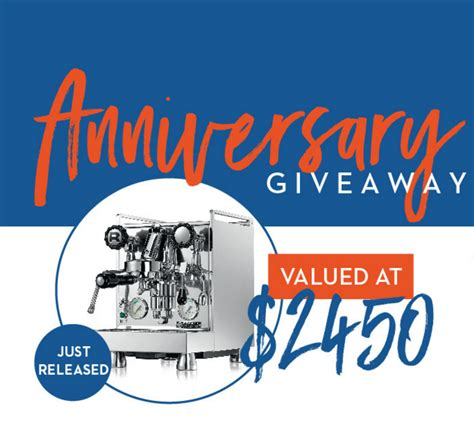 Anniversary Sweepstakes - idrinkcoffee 8th anniversary sweepstakes enter online sweeps