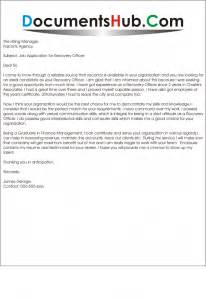 Recovery Cover Letter by Cover Letter For Recovery Officer