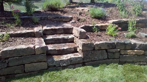 Patio Retaining Walls Stone Walls And Steps Insite Landscape