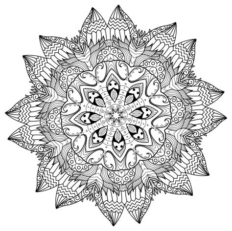 5 Free Printable Coloring Pages Mandala Templates The Maven Circle Templates For Pages Free