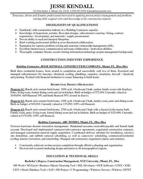 self employed handyman resume http getresumetemplate