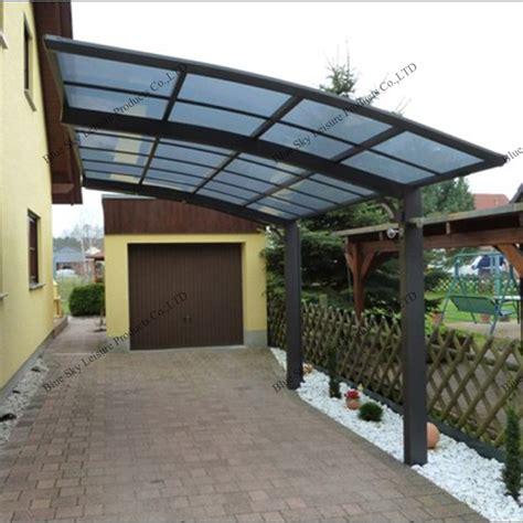 cobertizo in spanish al aire libre del policarbonato para techos del metal