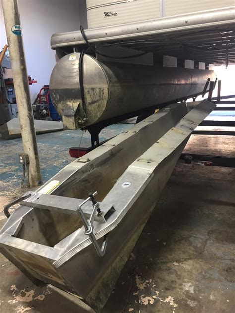 pontoon boat transom replacement pictures to pin on - Pontoon Transom