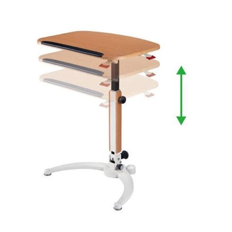 Height Adjustable Desk India by Adjustable Height Tables Gas Lift Folding Desk Laptop