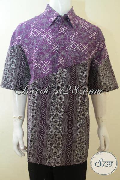 Gamis Batik Supervjumbo Jacinda baju batik jumbo untuk pria yang gemuk sekali batik cap tulis trendy dengan dua motif pas