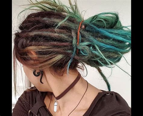 colored dreadlocks the 25 best colored dreads ideas on