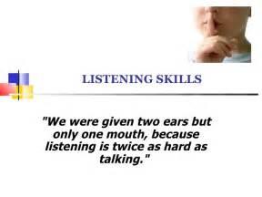 Listening Skills Essay by Effective Listening