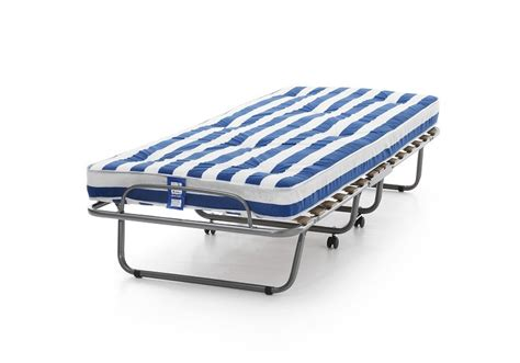 Foldable Bed by Arezzo Folding Guest Bed With Foam Mattress