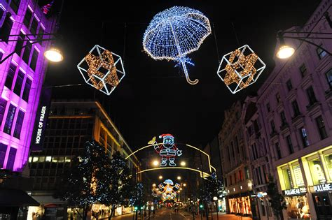 oxford street christmas lights festival collections