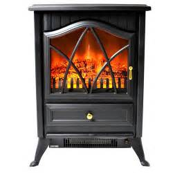 akdy vintage freestanding stove heater electric fireplace