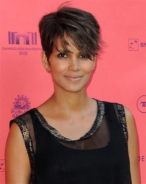does wedge hair cut suit square face how to get halle berry s pixie cut stuart phillips