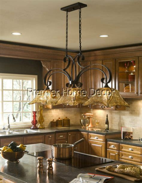 world tuscan style 3 light kitchen island chandelier