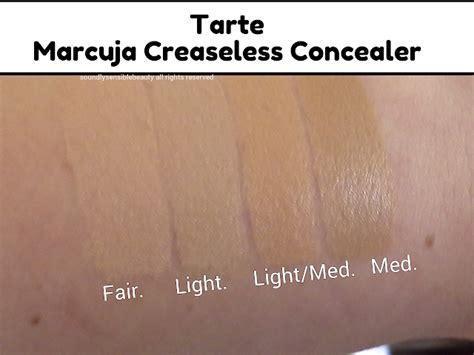 tarte maracuja creaseless concealer light medium sand tarte marcuja creaseless concealer full cover concealer