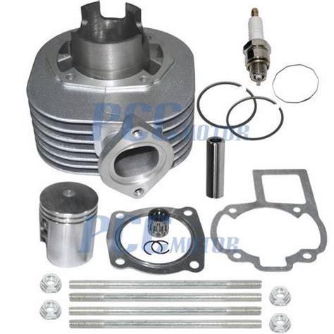 Spare Part Piston Set Motor Mini Trail Gp Dan Atv Suku Cadang Murah suzuki lt80 lt 80 s cylinder piston rings gaskets engine kit