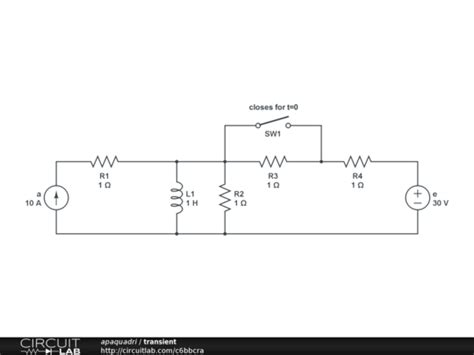 inductor transient circuit analysis how to solve a transient circuit electrical engineering stack exchange