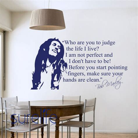 Ikea Wall Art Stickers wholesale bob marley quotes vinyl wall decals ikea poster