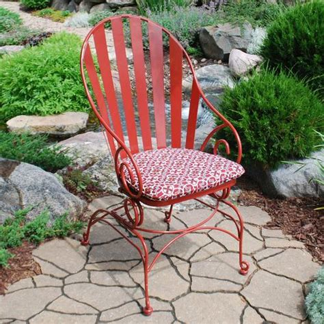 backyard creations vineyard ii cafe chair at menards 174