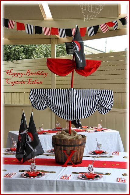 pirate themed table decorations best 25 pirate decorations ideas on
