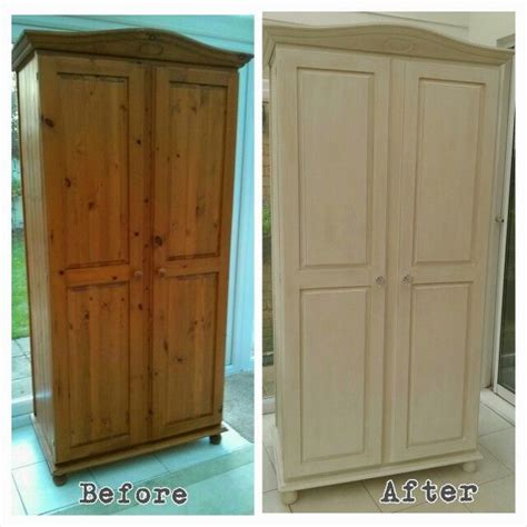 Wardrobe Paint Ideas by Rejenerate Pine Wardrobe Sloan Chalk Paint