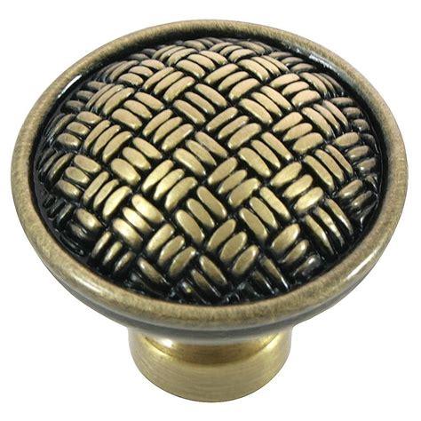satin brass cabinet knobs sumner street home hardware symmetry 1 1 4 in square oil