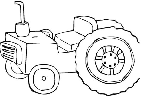 ford tractor coloring page 25 best tractor coloring pages to print