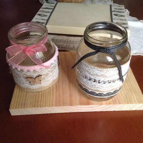 floreros con mason jars tarros floreros decorados de diferentes formas y con