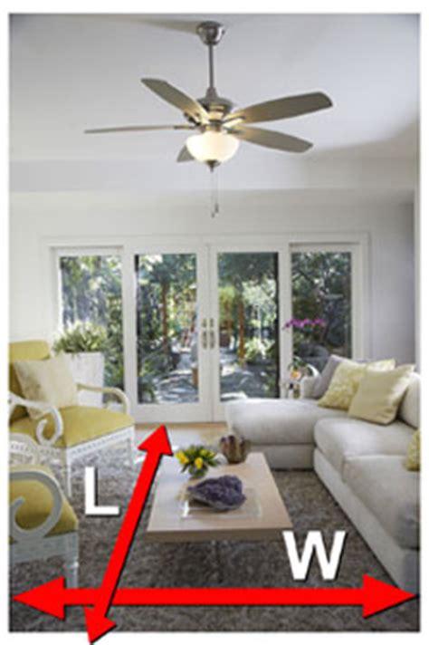 ceiling fan width for room size what size ceiling fan do i need